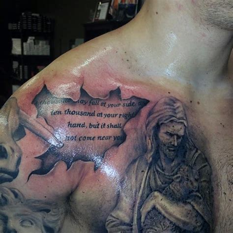jesus tattoo in the bible incredible jesus tattoo design for men creativefan