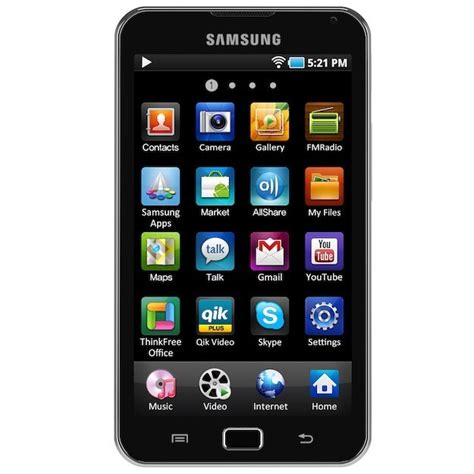 samsung galaxy android samsung android running galaxy players will take on the ipod touch
