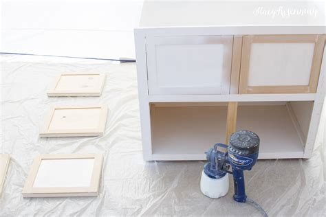 spraying kitchen cabinets hvlp how to paint cabinets without brush marks homeright