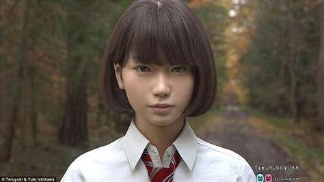 tiny pretender model japanese saya by teruyuki in tokyo is the japanese girl taking the