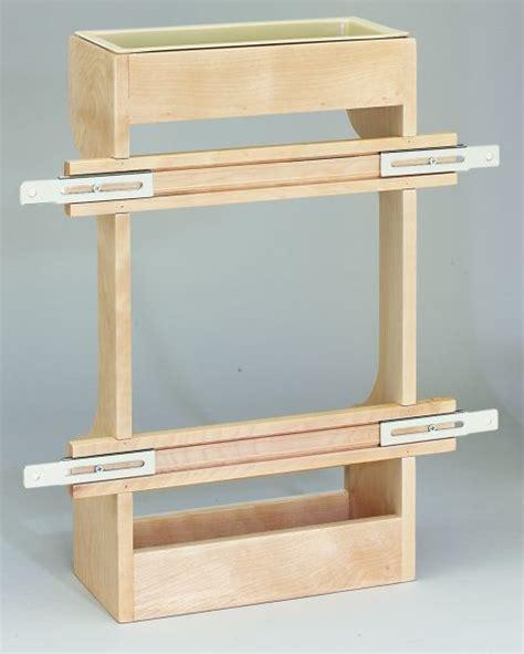 Wood The Sink Shelf by 16 1 2 Quot Wooden Sink Door Storage Trays 4sbsu 21 Rev A Shelf