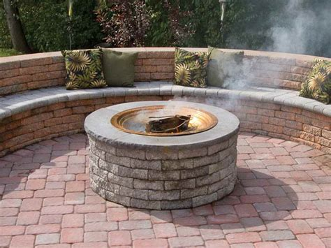Outdoor Home Depot Fire Pit Kit Home Depot Fire Pit Firepit Kits