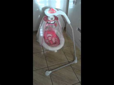 fisher price coral floral swing balan 231 o fisher price cradle n swing coral floral youtube