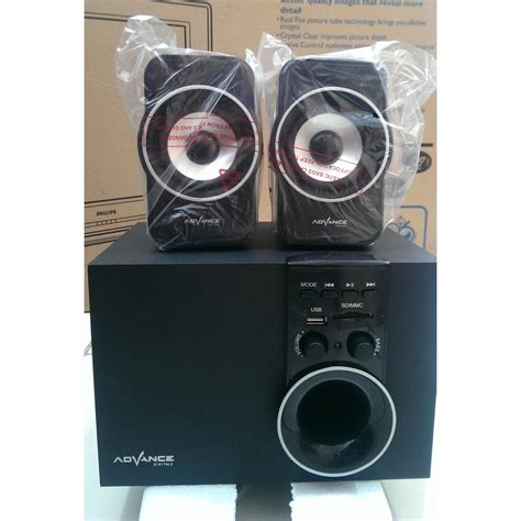 Speaker Aktif 2 1 Advance M 080 speaker aktif bluetooth fm radio portable advance m180bt