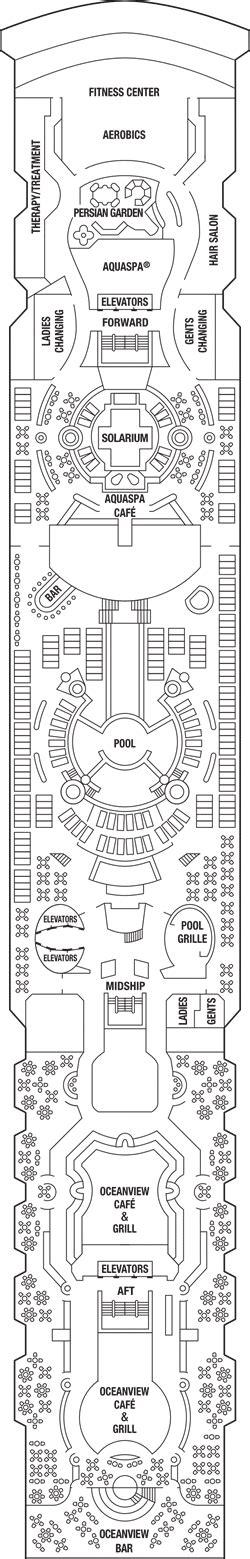 celebrity constellation floor plan celebrity constellation deck plans celebrity cruises