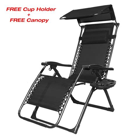 Lounge Chair Canopy by New Zero Gravity Chair Lounge Patio Chairs Outdoor With
