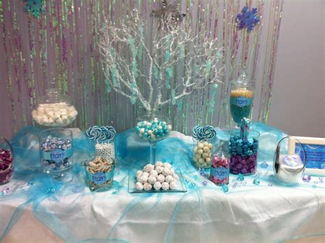 Frozen Table by Frozen Buffet For S 8th Birthday