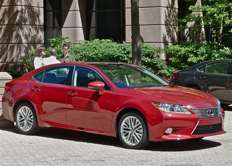 red lexus lexus adds luxury and hybrid to 2013 es new car picks