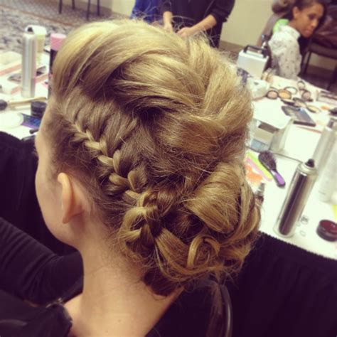hair pieces to wear with fo hawk hairstyle romantic crown braid fashion show google search