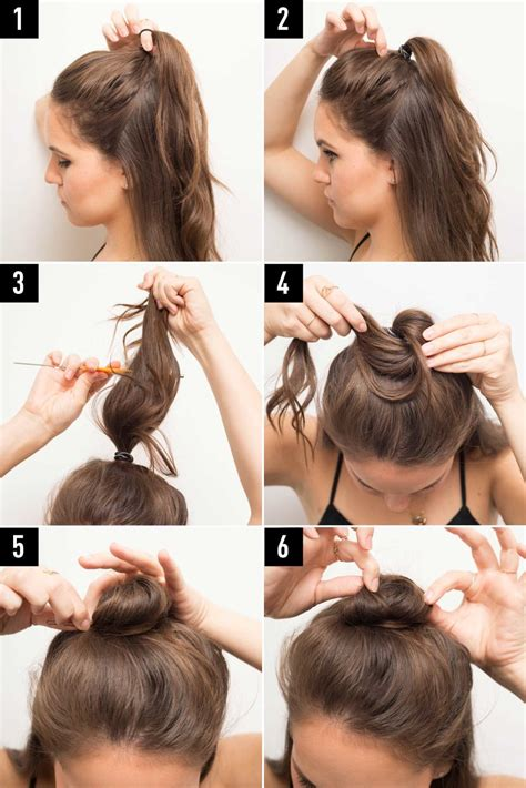 hairstyles for putting you hair down 16 genius half bun hacks you need to know about half bun