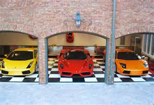Cool Car Garages Gallery For Gt Cool Car Garages
