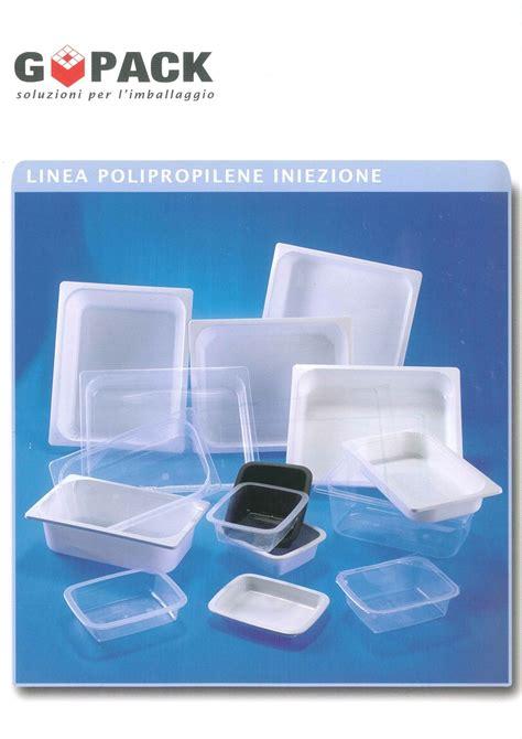 plastiche per alimenti vaschette plastica per alimenti iniezione go pack di