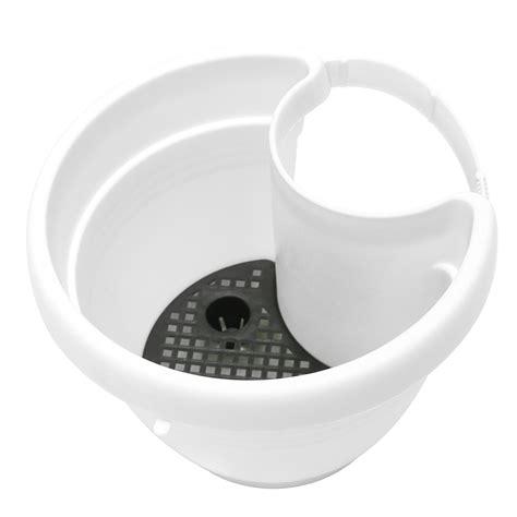 bathtub drain basket tub drain pipe flower plant hanging pot basket garden