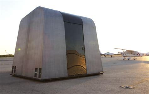 exo reaction housing system easy  assemble flat pack emergency shelter  inhabitat green