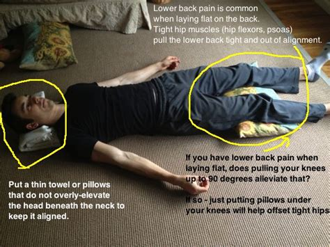 sore hips while sleeping on side sleeping to bring relief to lower back
