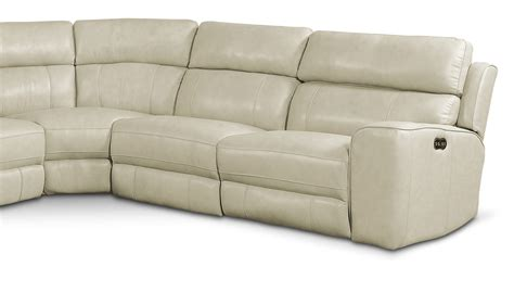 newport sectional newport 6 piece power reclining sectional with 2 reclining