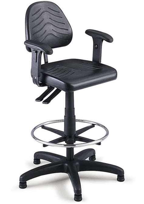 work bench chairs task master workbench height stool series w 19 quot 27 quot seat