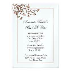 steffinator s gul 39s post wedding reception invitation wording this entry was posted