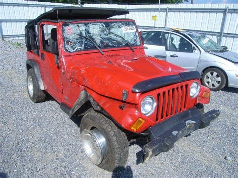 Jeep Wrangler 2004 Accessories 2004 Jeep Wrangler Engine Accessories Starter Motor 2 4l