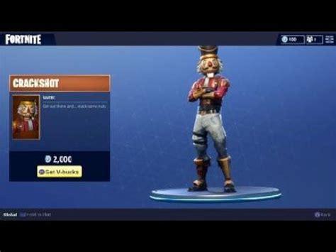 fortnite crackshot outfit nutcracker holiday character