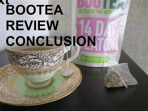 Bootea Detox Diet Plan by Teatox Bootea Lose Weight Tips