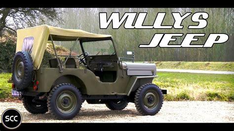 wwii jeep willys willys jeep cj3 1955 test drive wwii jeep