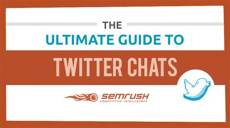 the ultimate guide to twitter chats by semrush free pdf