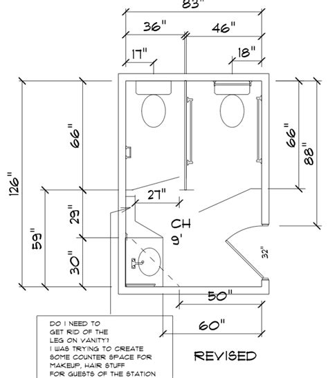 Ada Bathroom With Shower Layout by Ada How To Convert A Standard Bathroom Into An Ada