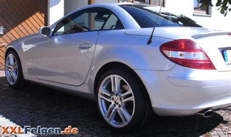 Silbernes Auto Polieren by Mercedes Slk 171 Komplettr 228 Der 18 Zoll