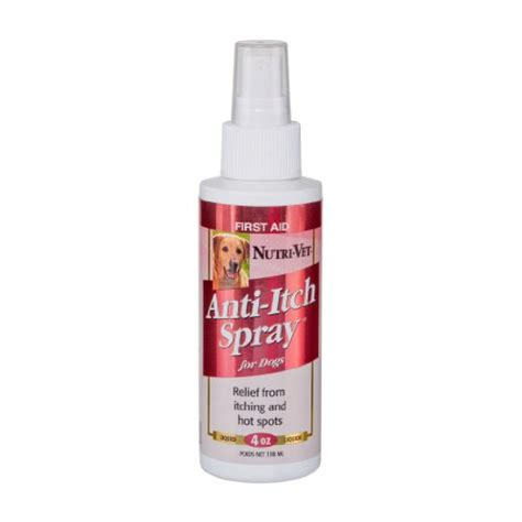 anti itch spray for dogs nutri vet anti itch spray for dogs 4 ounce my pet supplies