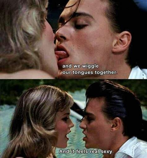 movie quotes kissing cry baby quotes quotesgram