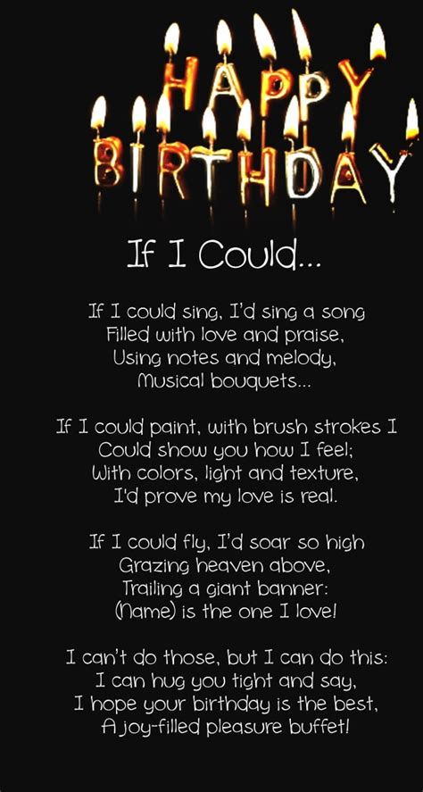 Birthday For Him Quotes 12 Happy Birthday Love Poems For Her Him With Images
