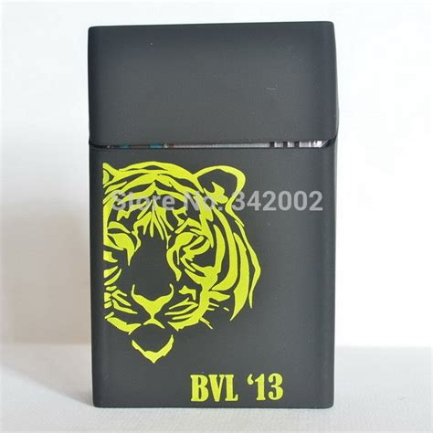 Kotak Rokok 2 cover kotak rokok silicone motif macan black