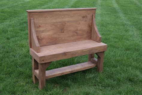rustic entryway bench with back furniturefarm rustic entry bench with back solid