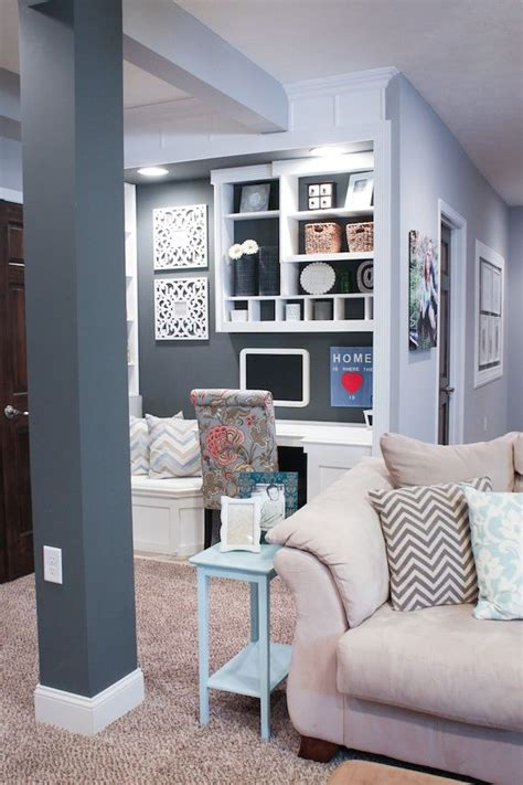 gray paint colors office nook decorate