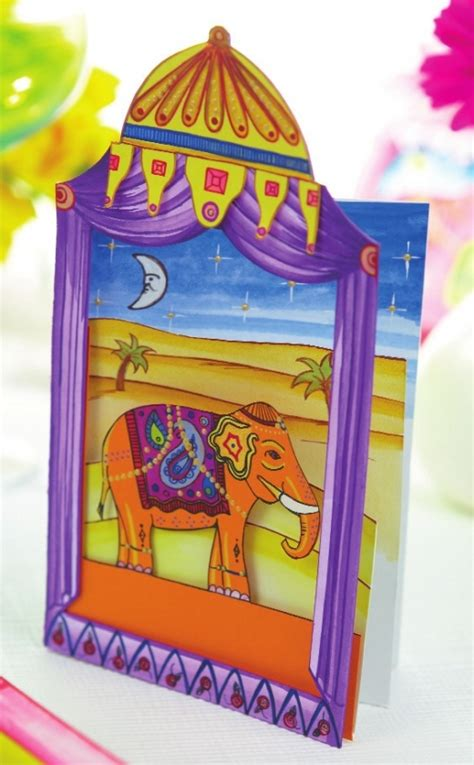 template diorama card create layered diorama cards free card downloads
