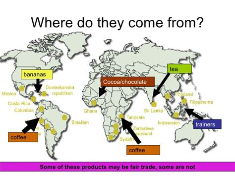 where does come from fair trade