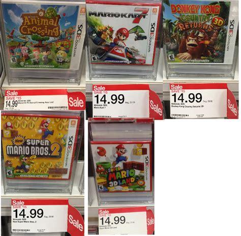 3ds Mario Reg 3 nintendo 3ds sale only 14 99 each reg 29 99 at