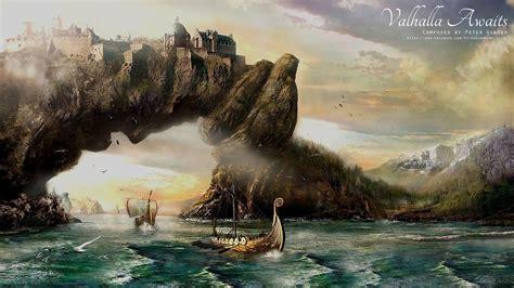 Or Valhalla Nordic Viking Valhalla Awaits