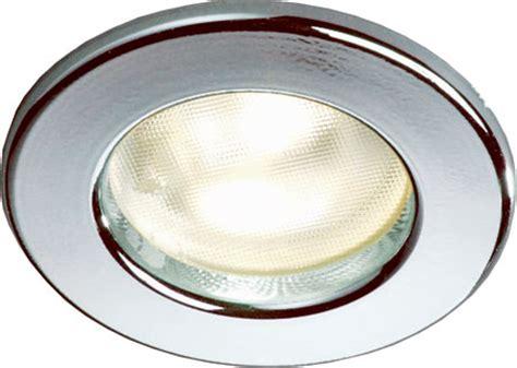 12 Volt Led Ceiling Lights Frilight Pinto 8675 Recessed Boat Light Halogen Or Led