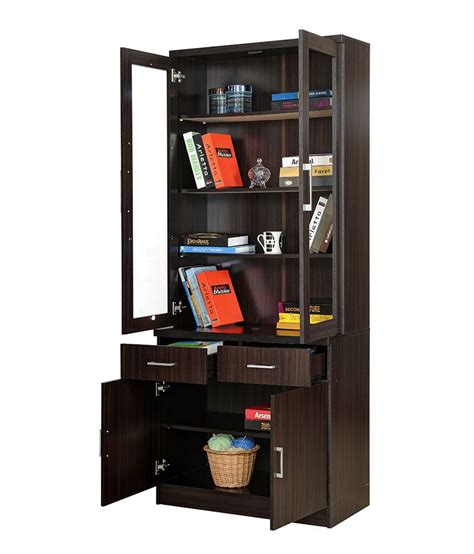 royal oak two door bookshelf with finish acacia