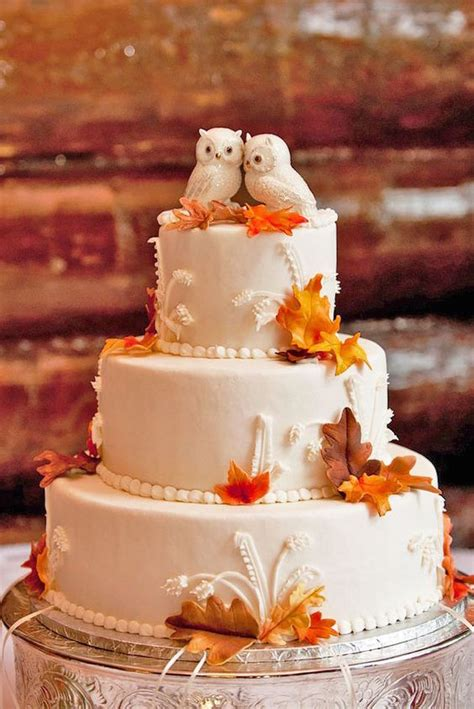 Fall Wedding Cakes 45 and wedding cakes graceful inspiration