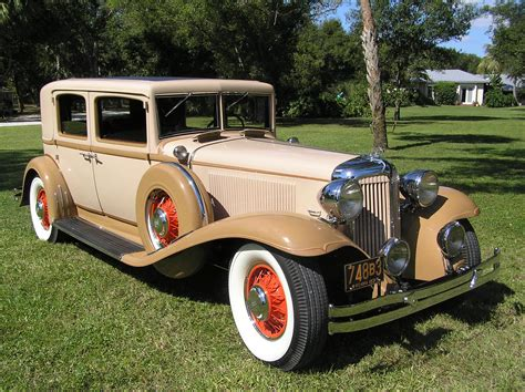 3 Door Garage by 1931 Chrysler Imperial Close Coupled Sedan