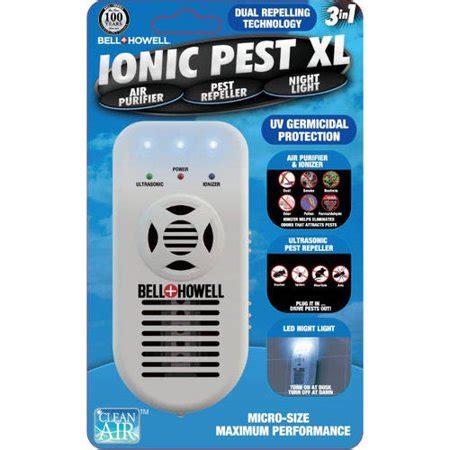 bell howell ionic pest    repeller air purifierionizer  nightlight walmartcom