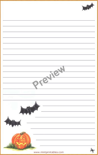 printable pumpkin stationery printable halloween pumpkins stationery matching envelope