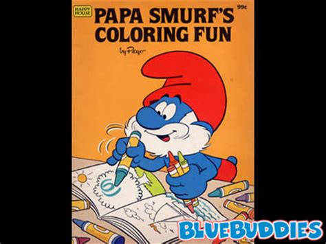 smurf coloring books for sale smurf coloring books papa smurfs coloring book