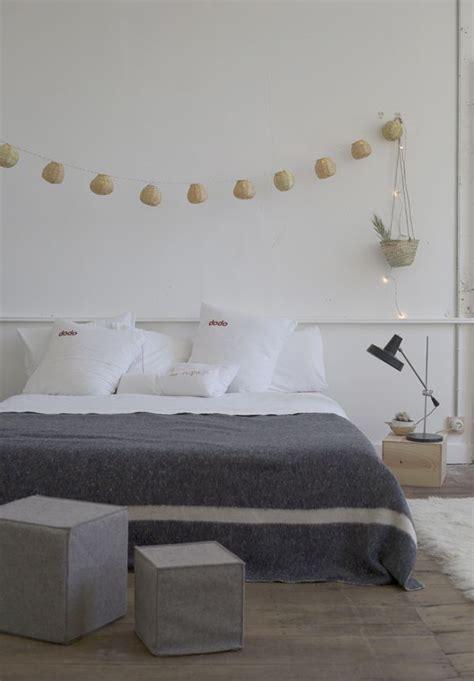 chambre blanche et grise inspiration en vrac le gris cocon de d 233 coration le