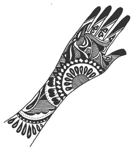 beautiful henna designs on paper