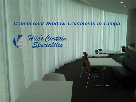 commercial drapery commercial window treatments in ta hiles curtains