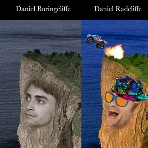 Daniel Radcliffe Meme - andpop meme of the day daniel boringcliffe vs daniel